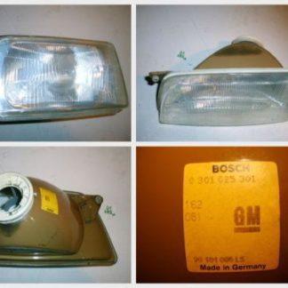 Opel Kadett E Scheinwerfer links Bosch 1305621030 0301025301 90181006LS | GM195