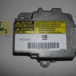 Opel Sintra 3,0 Airbagsteuergerät Steuergerät