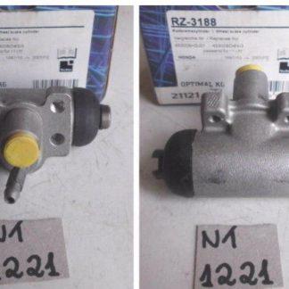 Radbremszylinder Bremszylinder re. Honda Civic IV CRX III Optimal RZ-3188 NT1221