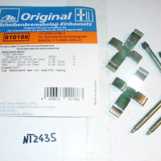 Zubehörsatz Bremsbeläge ATE 13046001862 NT2435
