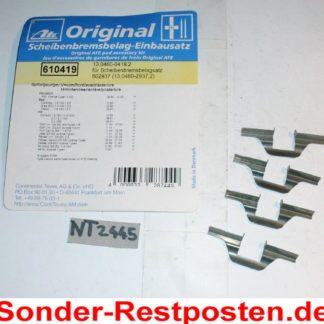Zubehörsatz Bremsbeläge ATE 13046004192 NT2445