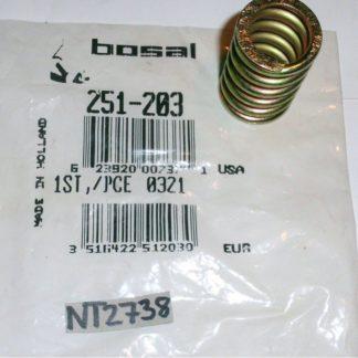 Original BOSAL Feder Abgasrohr Schalldämpfer 251-203 Neuteil NT2738