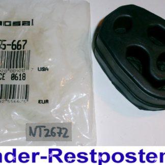 Original BOSAL Gummipuffer Anschlagpuffer Schalldämpfer 255-667 Neuteil NT2672