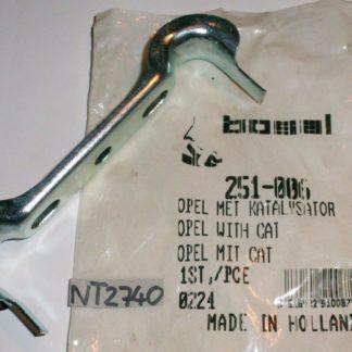 Original BOSAL Halterung Halter Abgasanlage Schalldämpfer 251-006 Neuteil NT2740
