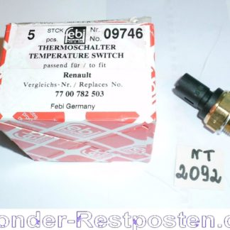 Original Febi Thermoschalter Thermo Schalter Temperaturschalter Neu 09746 NT2092