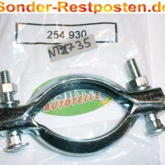 Original Montageschelle Schelle Abgasrohr Schalldämpfer Neuteil 254-930 NT2735