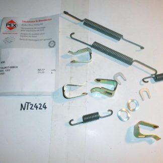 Zubehörsatz Bremsbacken PEX 616 NT2424