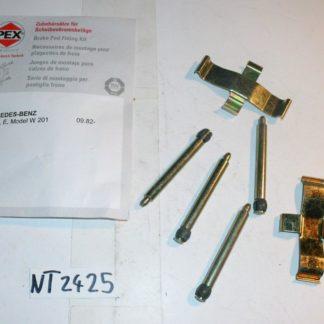 Zubehörsatz für Bremsbeläge Pex 1037 NT2425