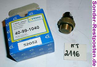 Original Vemo Thermoschalter Temperaturschalter Neu 40-99-1040 NT2116