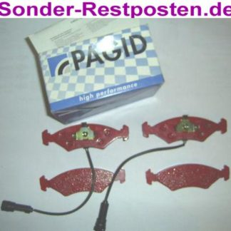 Sport Bremsklötze Bremsbeläge PAGID T4019-HP FORD 1010503 WVA 20783 NT1334