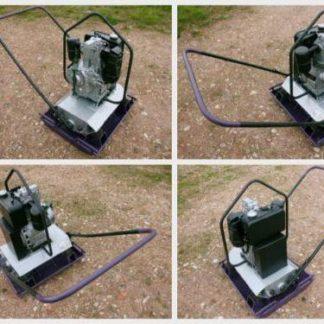 Robuste Case / Vibromax Rüttelplatte ca. 200KG mit einem Hatz Diesel Motor | BM001