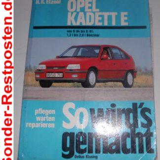 So wirds gemacht Ausgabe 51 Kadett E 1,3l bis 2,0l Benziner GS1367