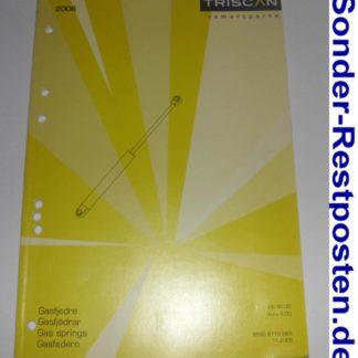 Tridon Triscan Gasfederkatalog Ersatzteilkatalog Katalog Gasdruckfeder 2006 GS1362