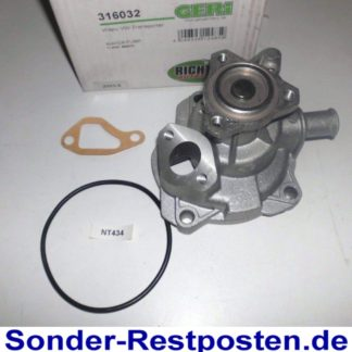 Wasserpumpe Geri 316032 VW | NT434