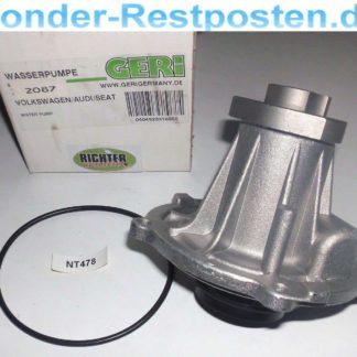 Wasserpumpe Geri 316050 VW | NT478