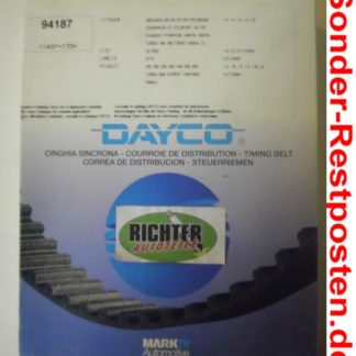 Zahnriemen Dayco 94187 Citroen Peugeot | NT198