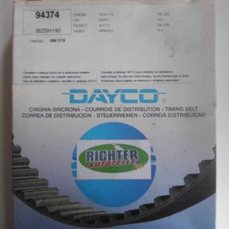 Zahnriemen Dayco 94374 Citroen Peugeot | NT214