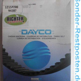 Zahnriemen Dayco 94387 Alfa | NT208