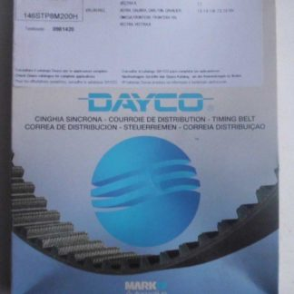 Zahnriemen Dayco 94662 Opel | NT161