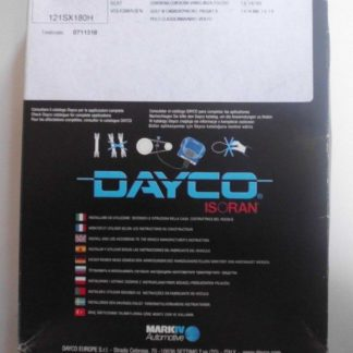 Zahnriemen Dayco 94737 Audi VW | NT192