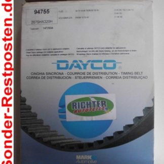 Zahnriemen Dayco 94755 Audi VW | NT210