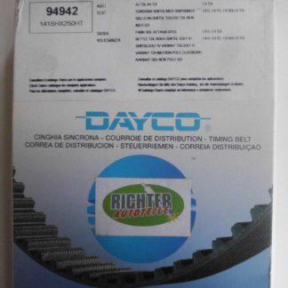 Zahnriemen Dayco 94942 Audi Seat VW | NT203