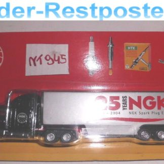 NGK Sammlertruck 25 Years Truck Werbemodell Silberfarbig NT945