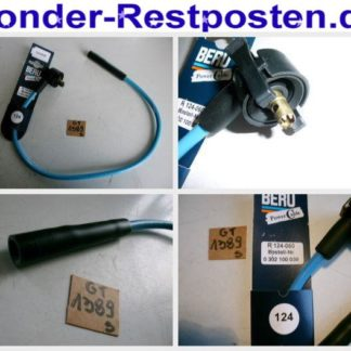FORD Zündleitung Zündkabel BERU R124-060 0302100039 GS1389